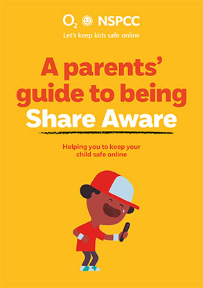 Parents Guide to Being Share Aware Booklet Cover