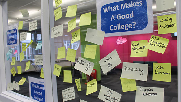 research what makes a good college