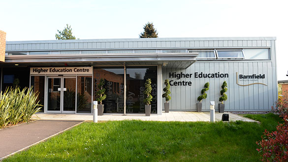 Barnfield College Higher Education building
