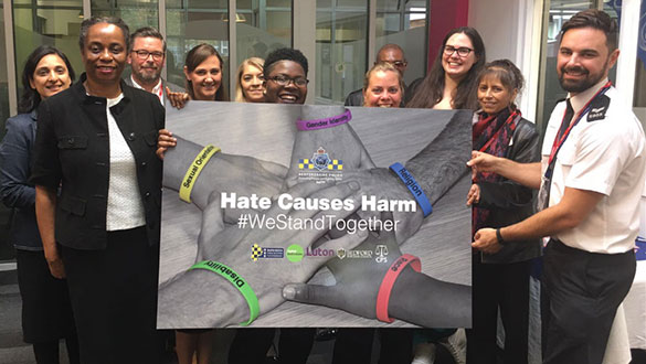 Stand together against hate crime