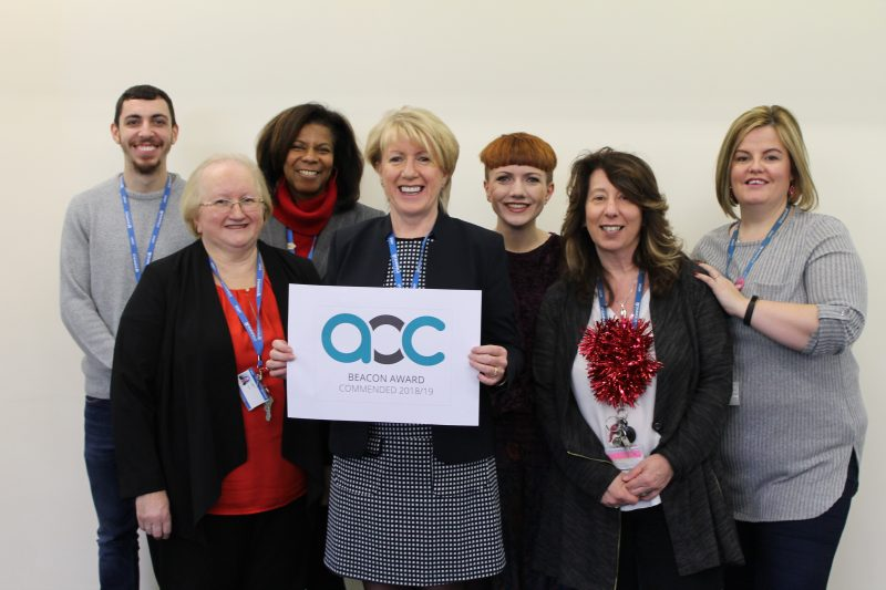 Student Support at Barnfield awarded Beacon Commended ...